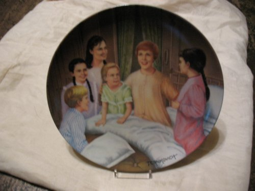 My Favorite Things Sound of Music Collector Plate 1986 by The Edwin M Knowles China co.