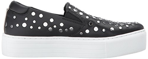 Kenneth Cole New York Women's Jeyda Slip On Platform Stud Detail Fashion Sneaker Black discount outlet cheap sale best prices pUGVo5tw