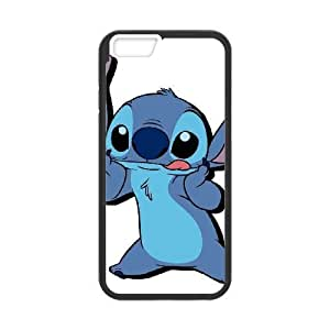 iphone6 4.7 inch case , Disney Lilo And Stitch Character Stitch Cell phone case Black for iphone6 4.7 inch - SDFG2234608
