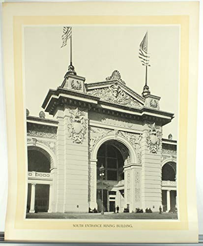 South Entrance Mining Building, Columbian Exposition World's Fair 1893, Photographic Print by W. H. Jackson