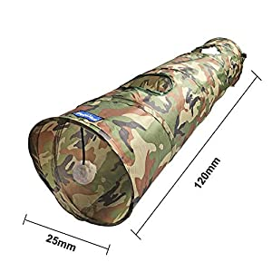 PetLike Cat Tunnel Crinkle Collapsible Pet Tube Interactive Play Toy with Ball … Click on image for further info.