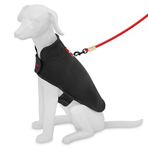 Best Pet Supplies 251-BK-S Voyager Windproof Fleece Pet Jacket, Small, Black by Best Pet Supplies, Inc. (Image #4)'