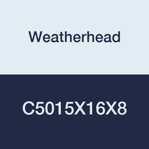 Eaton Weatherhead C5015X16X8 Carbon Steel SAE 37 Degree 1//2 JIC Male x 1 JIC Female 1//2 JIC Male x 1 JIC Female Adapter JIC Flare-Twin Fitting