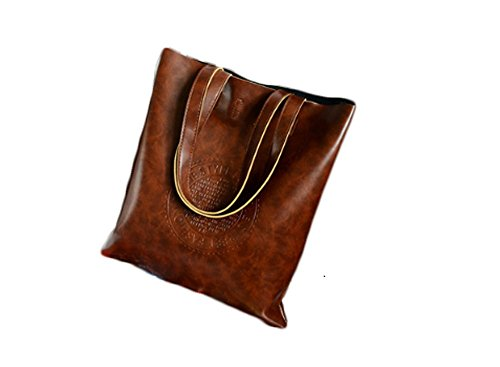 Women shoulder Bag Brown Single Handbag Leather Bag MMIRAG Shoulder Vintage Purse Hobo gqdwcUZA