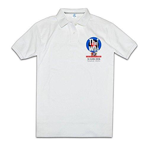 The Who Who Are You Baba O Riley Men's Polo Shirts