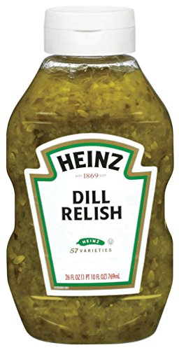 Heinz Dill Relish, 26 Ounce (Pack of 9)