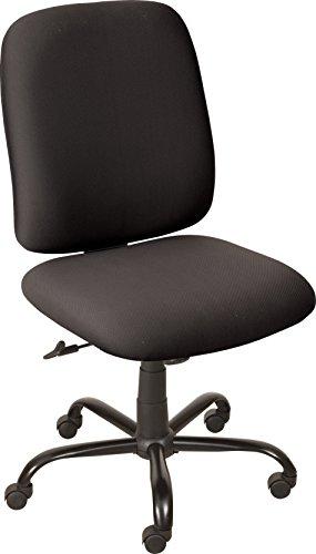 Balt 34663 Titan Big and Tall Office Chair, Black, 39 – 42 H x 23 W x 23 D