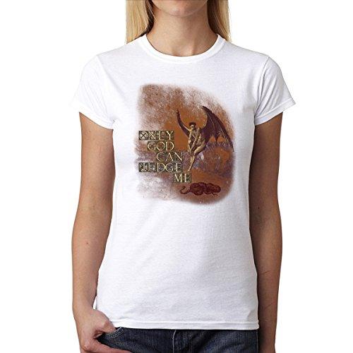 Dios Religión Jesús Mujer Camiseta XS-2XL Nuevo Blanco