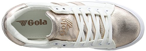Women's Leather Orchid Sneaker White 8 Metallic Gola Size Gold M Rose dq4HA1x