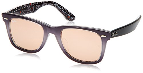 Ray-Ban Unisex 0RB2140F Light Grey One - Ban Ray Italy Design