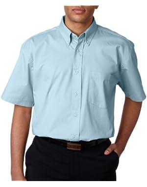 Men's Short Sleeve Whisper Twill