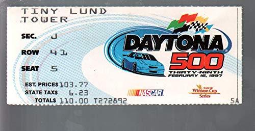 Jeff Gordon Speedway - Daytona 500 NASCAR Ticket Stub 2/16/1997-Daytona Int'l Speedway-Jeff Gordon-FN