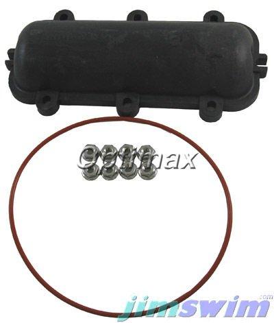 Raypak 011596F Model 130A Return Header (Includes 6-H) ()