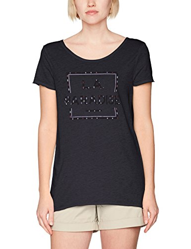 Q/S designed by, Camiseta para Mujer black placed print 99D0