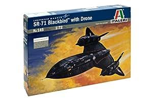 Amazon.com: Italeri 145 1/72 SR-71 Blackbird: Toys & Games