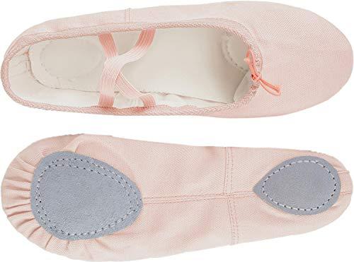 Beige Girls' Yoga Canvas Shoes Dance Ballet RUN Ballet Shoe Shipper Women's L P5gxn4wzqg