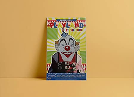 """REMEMBERING PLAYLAND AMUSEMENT PARK~SAN FRANCISCO~NEW 2010 11/""""x17/"""" MOVIE POSTER"""