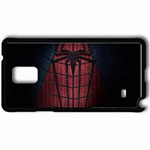 Personalized Samsung Note 4 Cell phone Case/Cover Skin 2014 The Amazing Spider Man 2 Movie Black