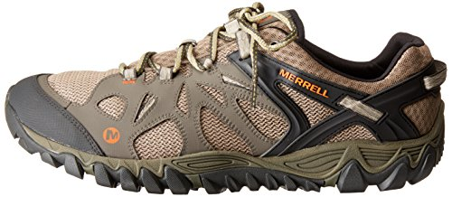 Merrell Men's All Out Blaze Aero Sport Hiking Water Shoe, Khaki, 8 M US by Merrell (Image #5)