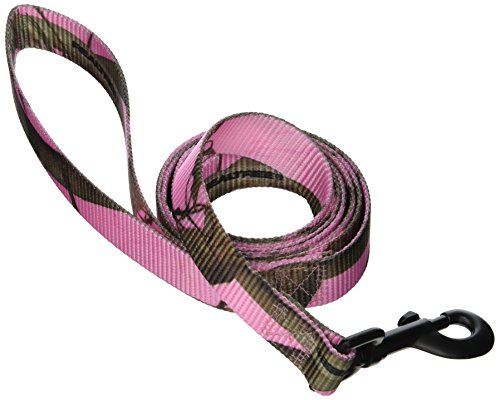 (Realtree Soft Martingale Quick Release APC Pink Camouflage Dog Leads, 6-Feet)