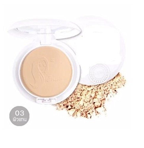 Perfect Bright UV 2 Way Powder SPF20 PA +++ (# 03-Skin Replacement) By Bestsellers Ribbit.