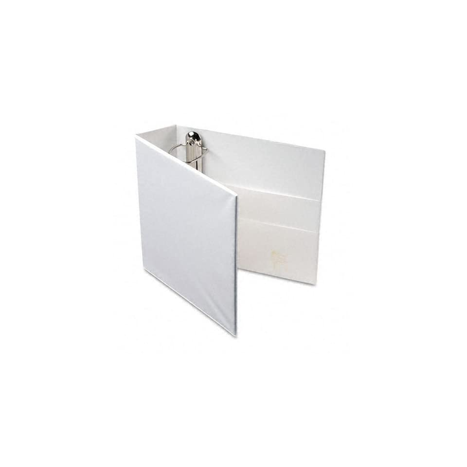 Avery Products   Avery   Nonstick Heavy Duty EZD Reference View Binder, 3 Capacity, White   Sold As 1 Each   Extra wide cover for use with top loading sheet protectors and extra wide dividers.   Nonstick, archival safe material wont lift ink or toner off