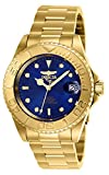 Invicta Men's Pro Diver Automatic-self-Wind Stainless-Steel Strap, Gold, 20 Casual Watch (Model: 26997)