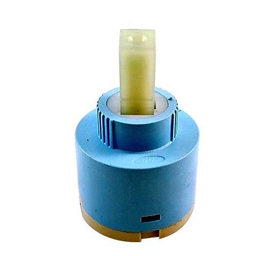 FidgetFidget Water Mixer Tap Inner Faucet Valve 40mm Ceramic Disc Cartridge