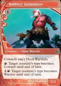 Magic: the Gathering - Boldwyr Intimidator - Future (Dragon Intimidator)