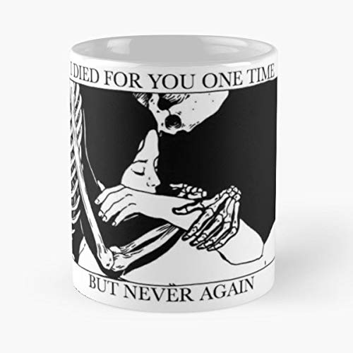 Brand New Jesse Lacey The Devil And God Deja Entendu - 11 Oz Coffee Mugs Unique Ceramic Novelty Cup, The Best Gift For Halloween.