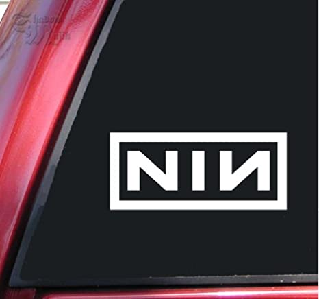 Nine Inch Nails Sin Logo Die Cut Vinyl Decal Car Truck Window Laptop Sticker