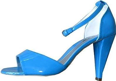 5b0326874 City Walk Women s Sandalette Fashion Sandals Blue BLUE Size  3.5 ...