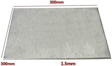 SQINAA Titanium Sheet TA2 Metal Titanium 1.5x200x200mm for Aerospace Industrial Processes Automotive DIY,300x300x1.5mm