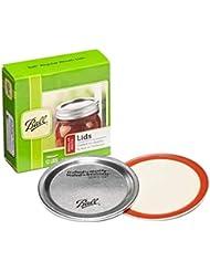 Ball Regular Mouth Canning Mason Jar Lids 12-Pieces per Pack (1-Pack)