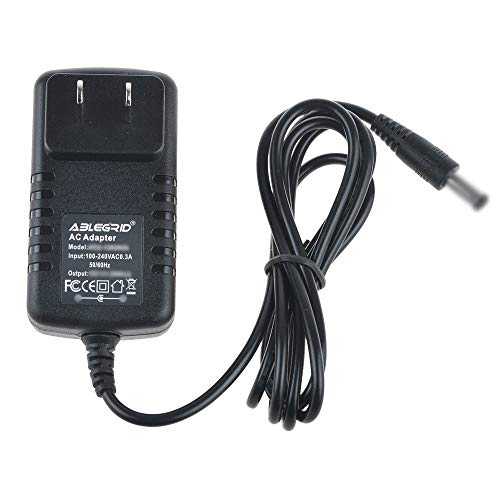 yan AC Adapter Charger for Stanton SCS.4DJ 2-Channel DJ Mixer Power Supply Cord PSU ()