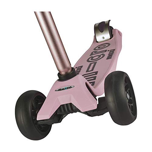 Micro Kickboard - Maxi Deluxe Pro Kick Scooter - Smooth-Gliding, 3-Wheeled, Lean-to-Steer Design with Fat, Stable Wheels and Chopper-Style Handlebars for Ages 5-12