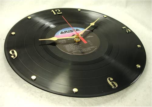 IT S OUR EARTH Whitney Houston Recycled Vinyl Record Clock Whitney Houston 1985 Debut Album
