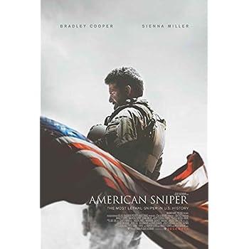 Amazon.com: American Sniper Movie Poster 27 x 40 Style B ...