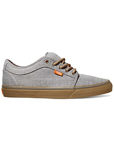 Vans Hombres Chukka Low Denim Sneakers Greygum 6.5