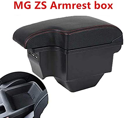 XXNHLLHKA for MG ZS 2017 2019,armrest box central Store content box products interior Armrest Storage car styling accessories part