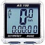 Ciclocomputador Assize para Bike 11 Funções AS100 Branco