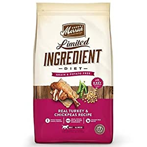 Merrick Limited Ingredient Turkey and Chickpea Recipe