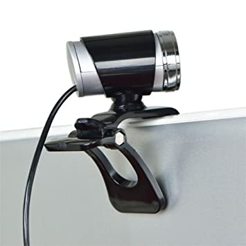 alicenter (TM) USB 50 MP HD Webcam Web Cam cámara para ordenador PC portátil de escritorio: Amazon.es: Electrónica