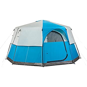 Amazon Com Coleman Octagon 98 8 Person Outdoor Tent