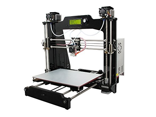 Prusa I3 M201 2-IN-1-OUT FDM 3D Printer DIY Kit 1.75mm ABS PLA 0.4mm Nozzle by Electronics & Tools