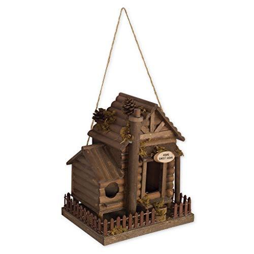 Cabin Birdhouse - 7