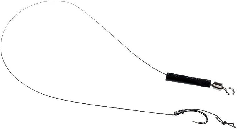 gebogener Schaft Gr/ö/ße 2 4 6 8 10 Angelhaken f/ür Karpfen ohne Widerhaken 10#-100stk Karpfenfutterhaken ohne Widerhaken