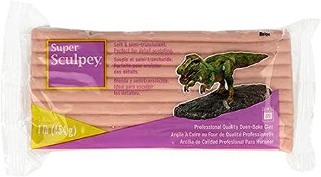 Super Sculpey 1Lb Flesh