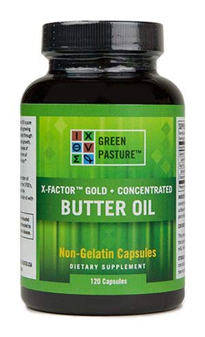 X-Factor Gold High Vitamin Butter Oil 120 Caps