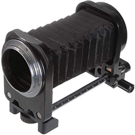 (Runshuangyu Lens Macro Fold Bellow Extension Tube for Nikon Film Cinema and Digital SLR Photography Camera D750 D810 D7200 D7100 D7000 D90)